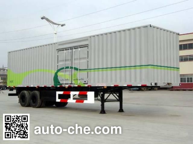 CIMC Tonghua THT9274XXY box body van trailer