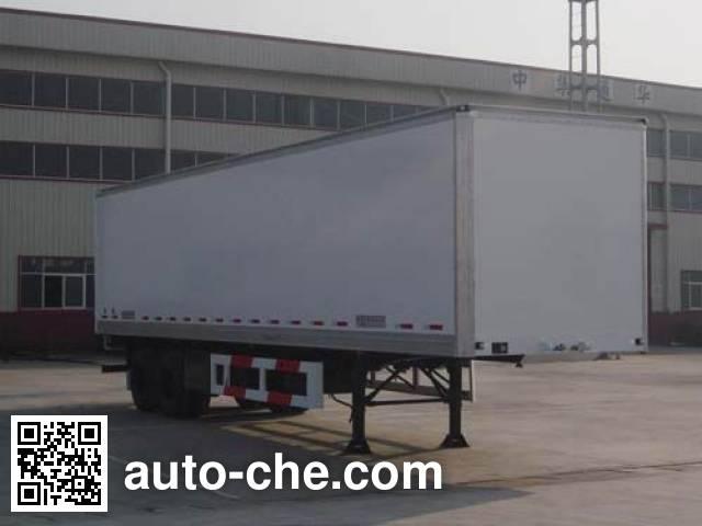 CIMC Tonghua THT9331XXY box body van trailer