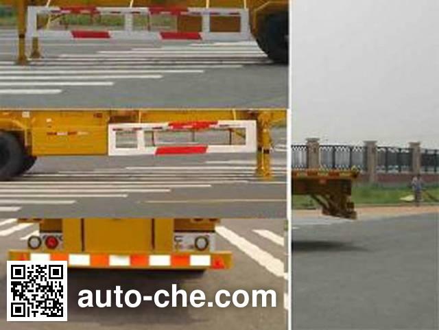 CIMC Tonghua THT9350TJZ container transport trailer