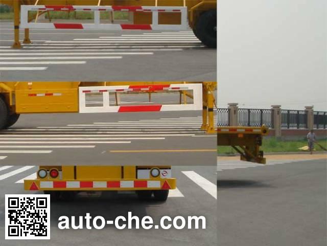 CIMC Tonghua THT9350TJZ02 container transport trailer