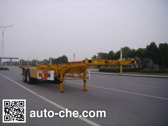 CIMC Tonghua THT9354TJZA container transport trailer