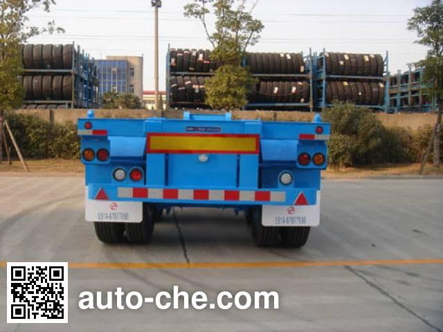 通华牌THT9355TJZA集装箱运输半挂车