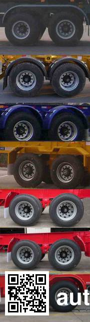 CIMC Tonghua THT9355TJZ container transport trailer