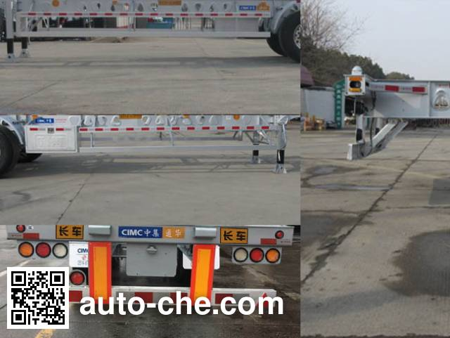 CIMC Tonghua THT9356TJZ container transport trailer