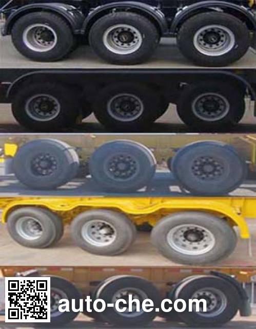 CIMC Tonghua THT9370TJZL01 container transport trailer