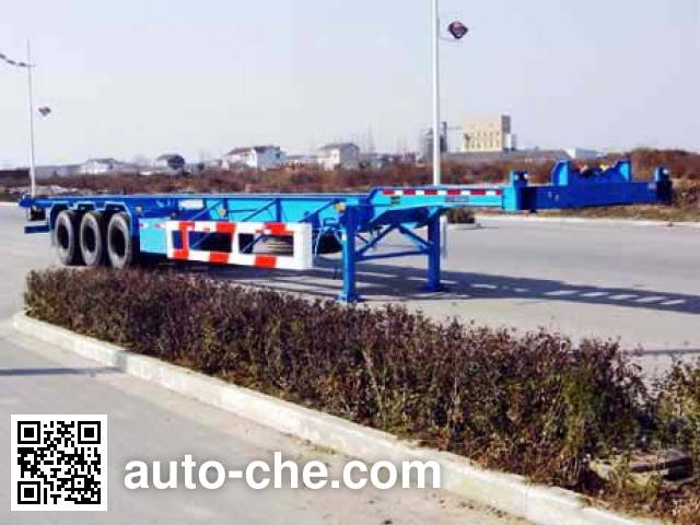 CIMC Tonghua THT9373TJZ container transport trailer
