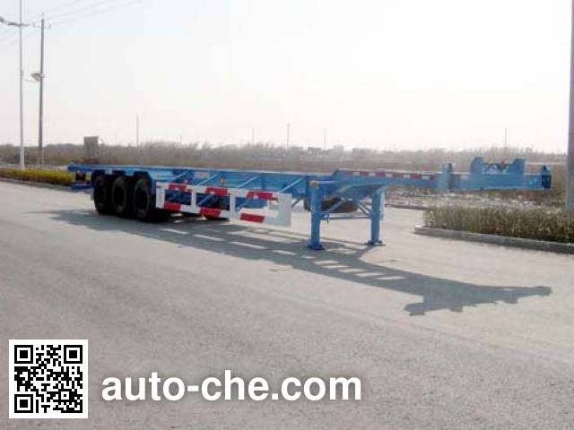 CIMC Tonghua THT9390TJZ container transport trailer