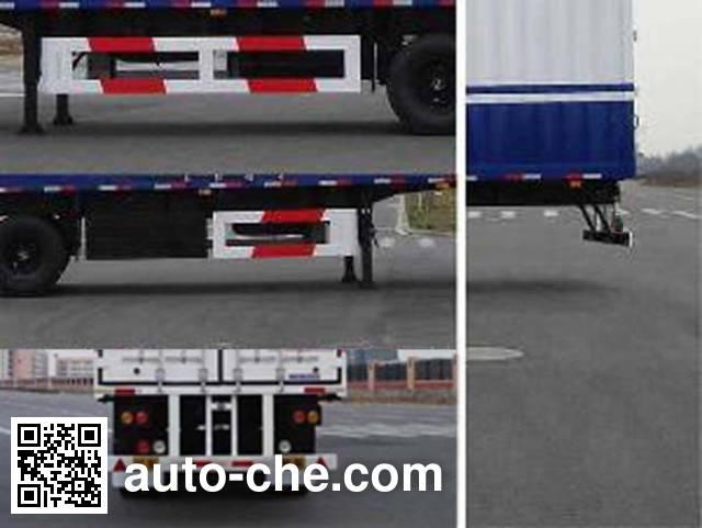 CIMC Tonghua THT9391XXY box body van trailer