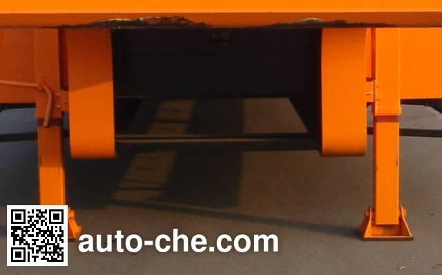通华牌THT9350TDPA低平板半挂车