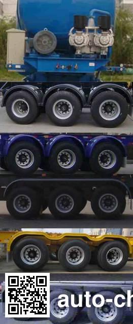 CIMC Tonghua THT9402GXH ash transport trailer