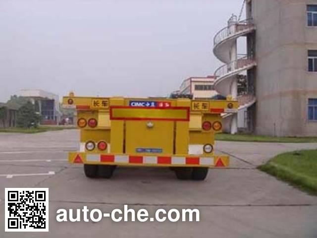 CIMC Tonghua THT9402TJZA container transport trailer