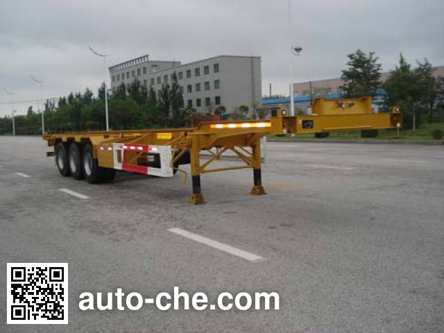 CIMC Tonghua THT9403TJZYK01 container transport trailer
