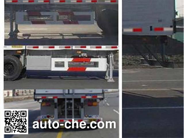 CIMC Tonghua THT9403XXY box body van trailer