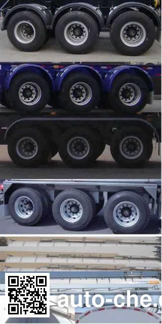 CIMC Tonghua THT9401GYSC liquid food transport tank trailer