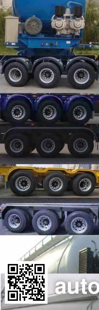 CIMC Tonghua THT9405GXH ash transport trailer