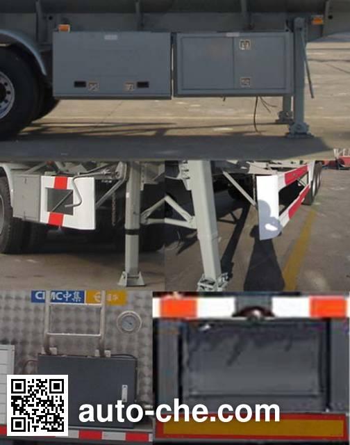 CIMC Tonghua THT9405GYYH oil tank trailer