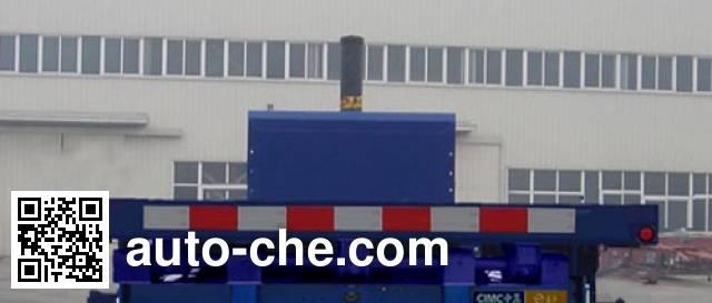 通华牌THT9406ZZXP平板自卸半挂车