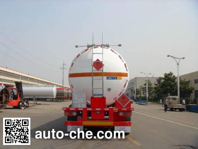 CIMC Tonghua THT9409GRYE flammable liquid tank trailer