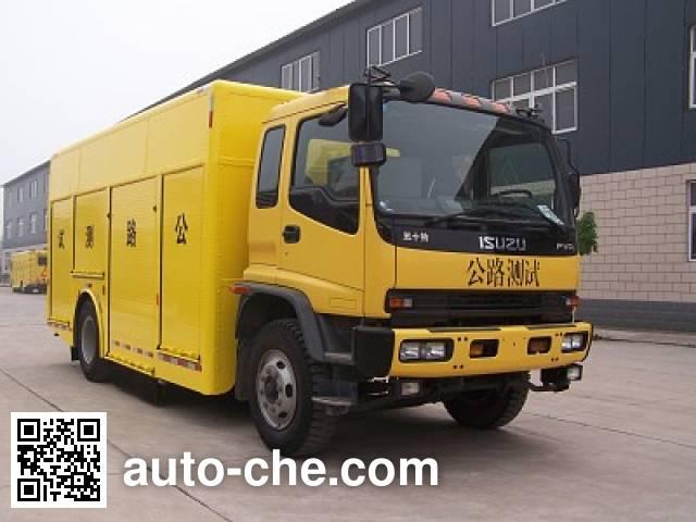 Liyi THY5160XLHW sideway force coefficient routine investigation machine (SCRIM)