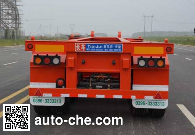 Tianjun Dejin TJV9402TJZE container transport trailer