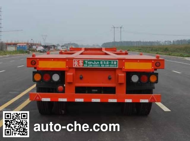 Tianjun Dejin TJV9405TJZE container transport trailer
