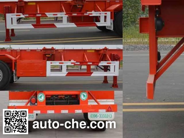 Tianjun Dejin TJV9409TJZE container transport trailer