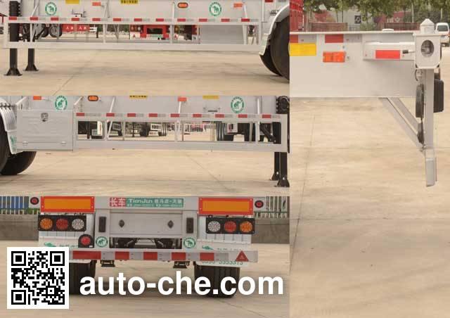 Tianjun Dejin TJV9409TJZG container transport trailer