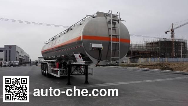 天明牌TM9402GYY铝合金运油半挂车