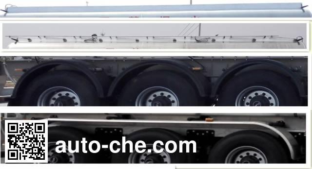 天明牌TM9404GSYFC2铝合金食用油运输半挂车
