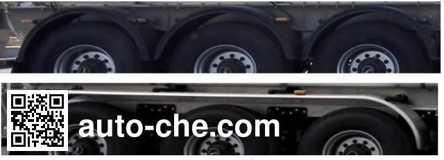 天明牌TM9407GSYTF2铝合金食用油运输半挂车