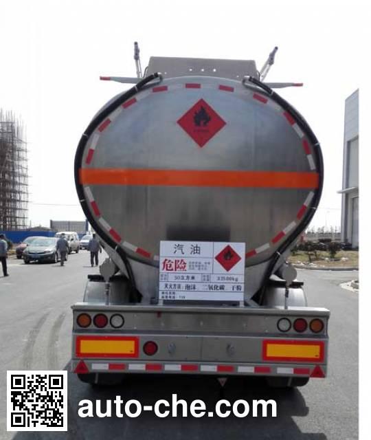 天明牌TM9407GYYTA2铝合金运油半挂车