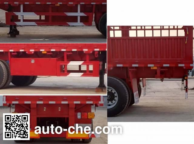 鹏合牌TPX9400CCY仓栅式运输半挂车
