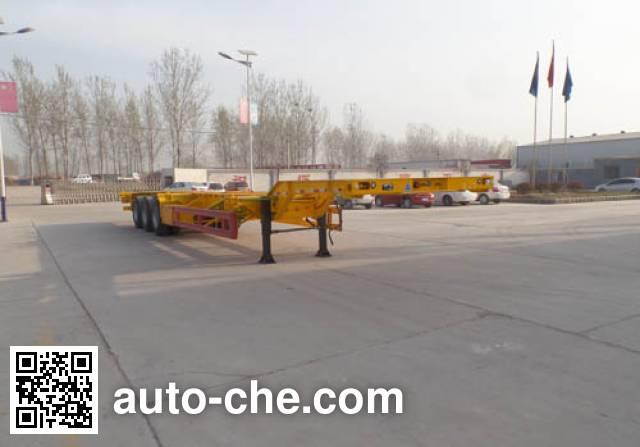 Penghe TPX9400TJZE container transport trailer