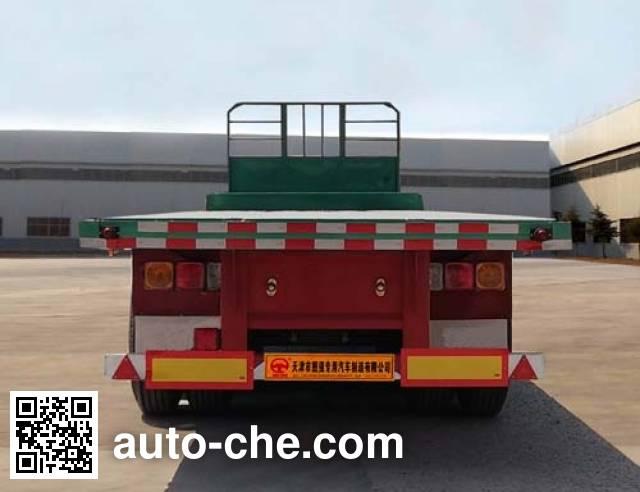Tuqiang TQP9400TPBE flatbed trailer