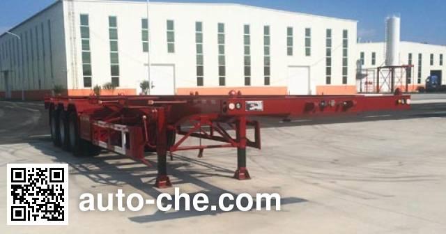 Tuqiang TQP9400TWY dangerous goods tank container skeletal trailer