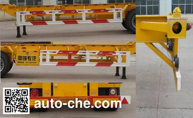 Tuqiang TQP9401TJZE container transport trailer