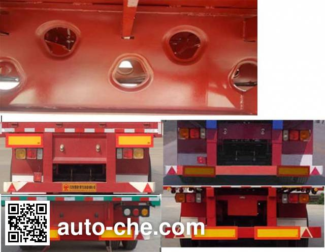 Tuqiang TQP9405 dropside trailer