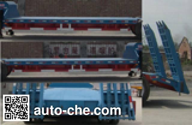 八匹马牌TSS9300TD低平板半挂车