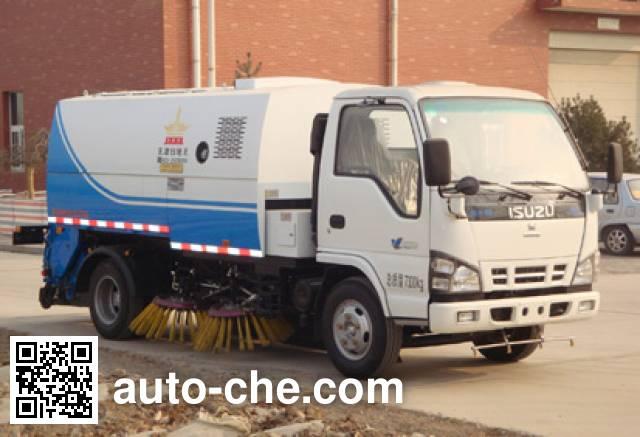 Huahuan TSW5075TSL street sweeper truck