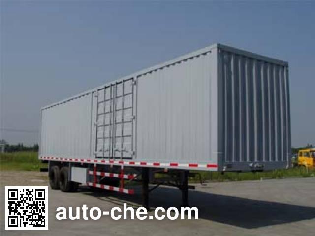 Mailong TSZ9270XXY box body van trailer