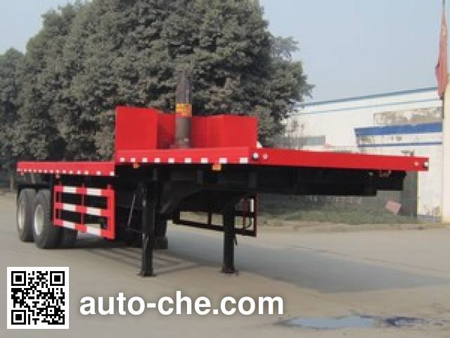 Mailong TSZ9352ZZXP flatbed dump trailer