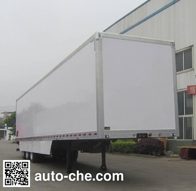 Mailong TSZ9391XXY box body van trailer