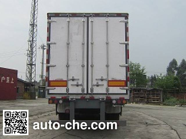 Mailong TSZ9392XXY box body van trailer