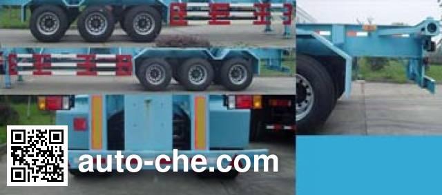 迈隆牌TSZ9400TJZG集装箱运输半挂车