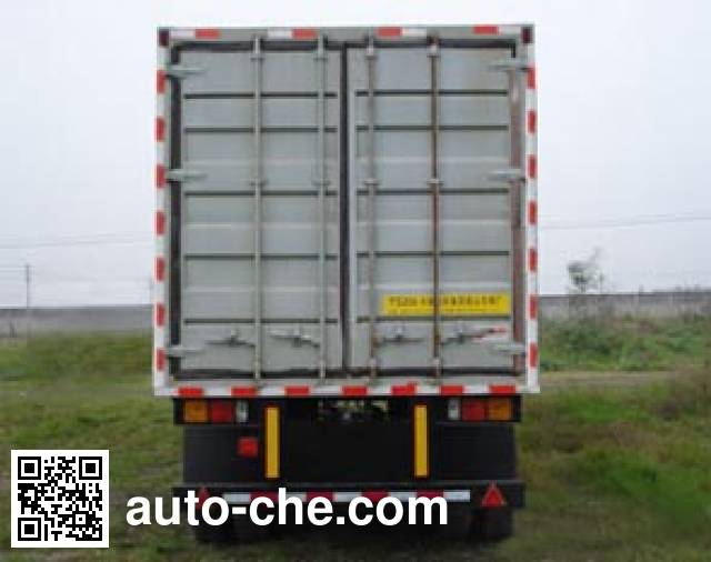 Mailong TSZ9400XXY box body van trailer