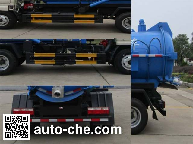 Tianweiyuan TWY5070GXWE5 sewage suction truck