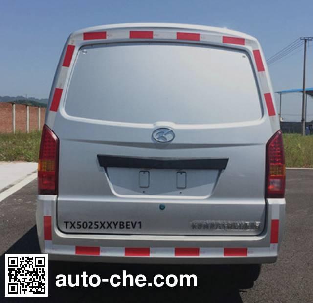 Tongxin TX5025XXYBEV1 electric cargo van