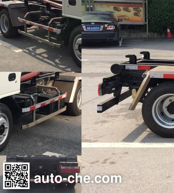 Tongxin TX5040ZXX4JH detachable body garbage truck