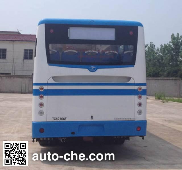 同心牌TX6740GF城市客车