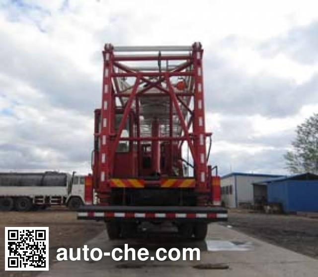Zhonghua Tongyun TYJ5252TXJ well-workover rig truck